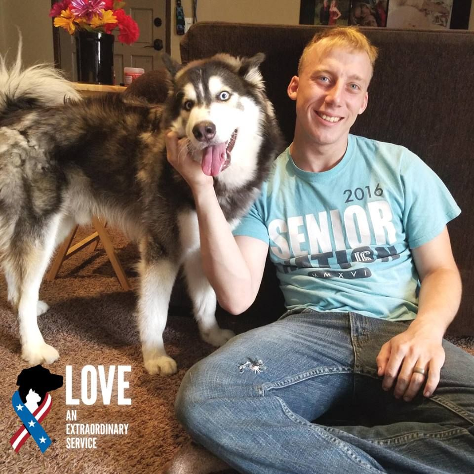 Blu Is Feeling Anything But Now That He S Adopted Thanks To Ethan Active Duty Marine For Giving This 2 Year Pets Animal Companions Humane Society