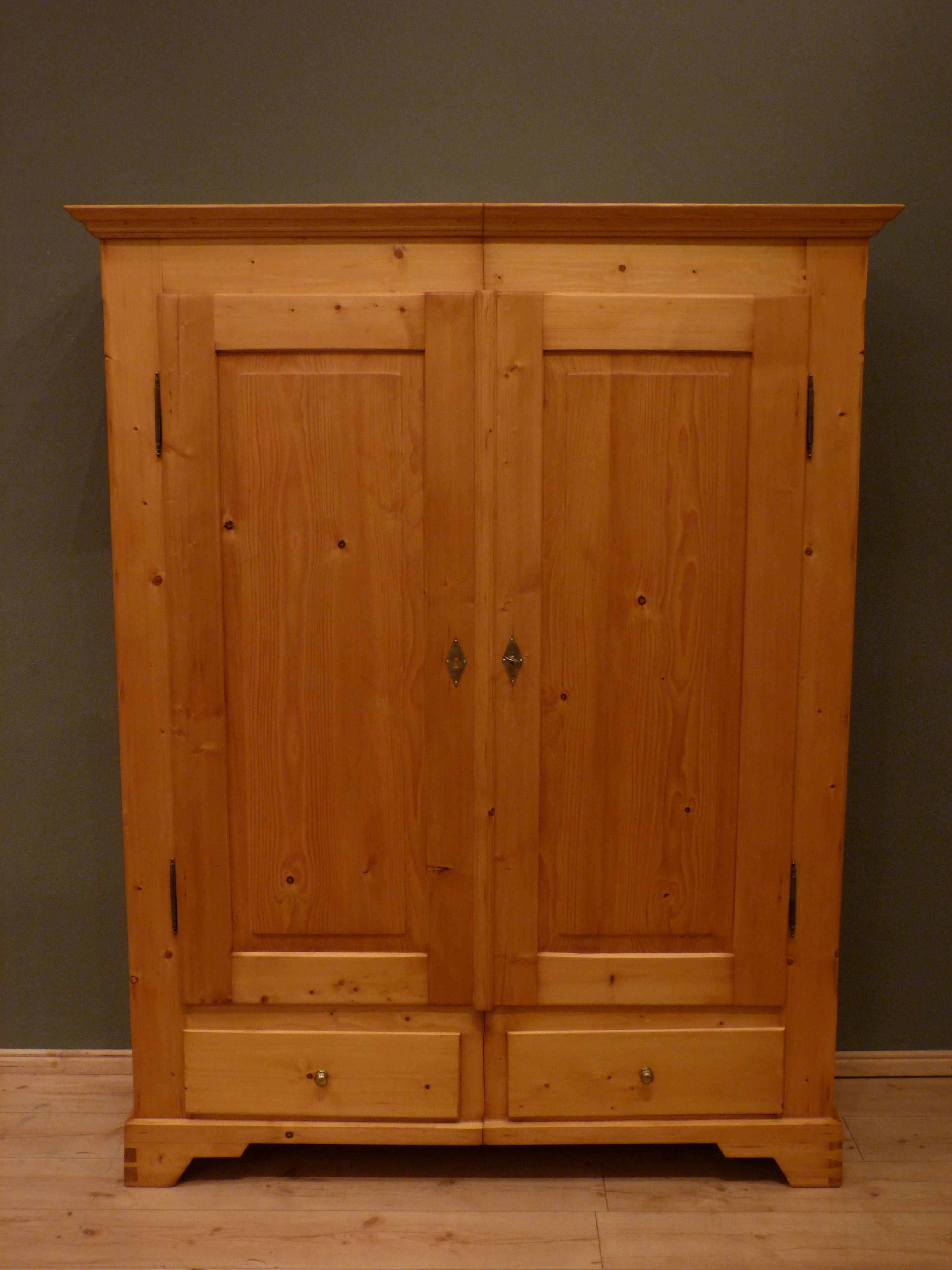 jugendstil spaltschrank fichte um 1910 antike m bel. Black Bedroom Furniture Sets. Home Design Ideas