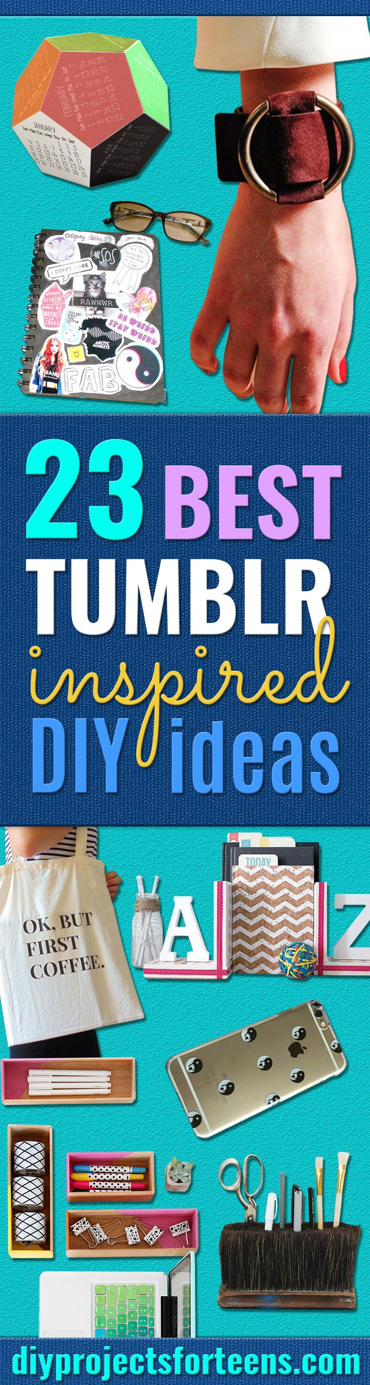 Best DIY Ideas from Tumblr Crafts