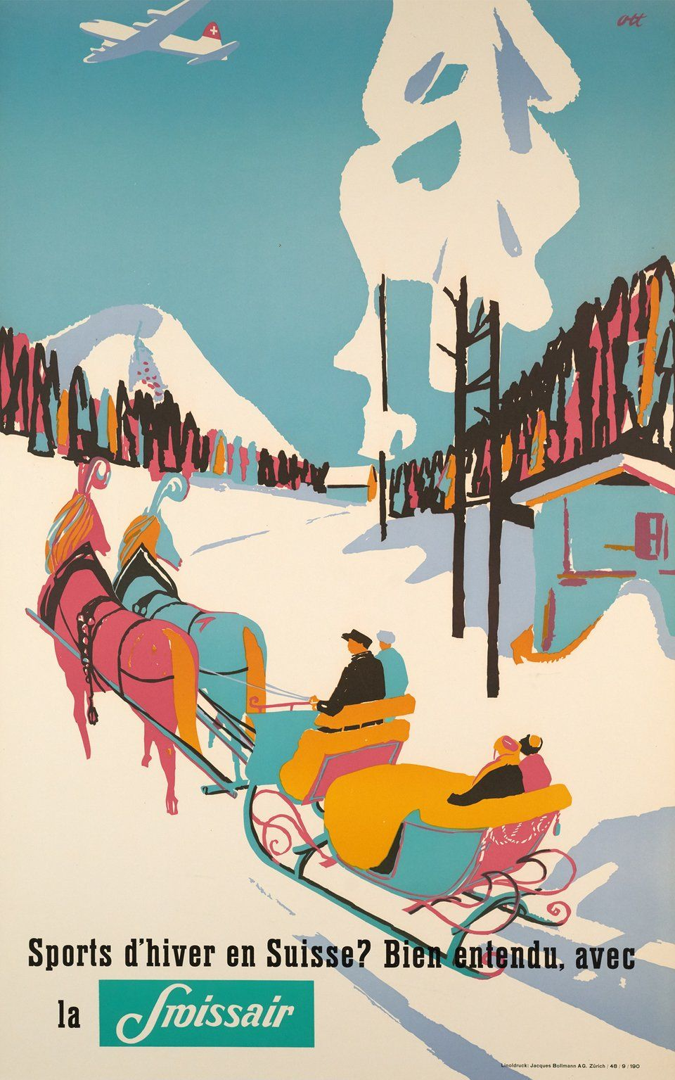 Pin by Rob Hill on Christmas Vintage ski posters