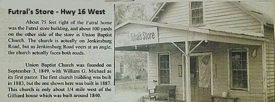 The Old Futral S Store Griffin Ga Many Many Years Ago
