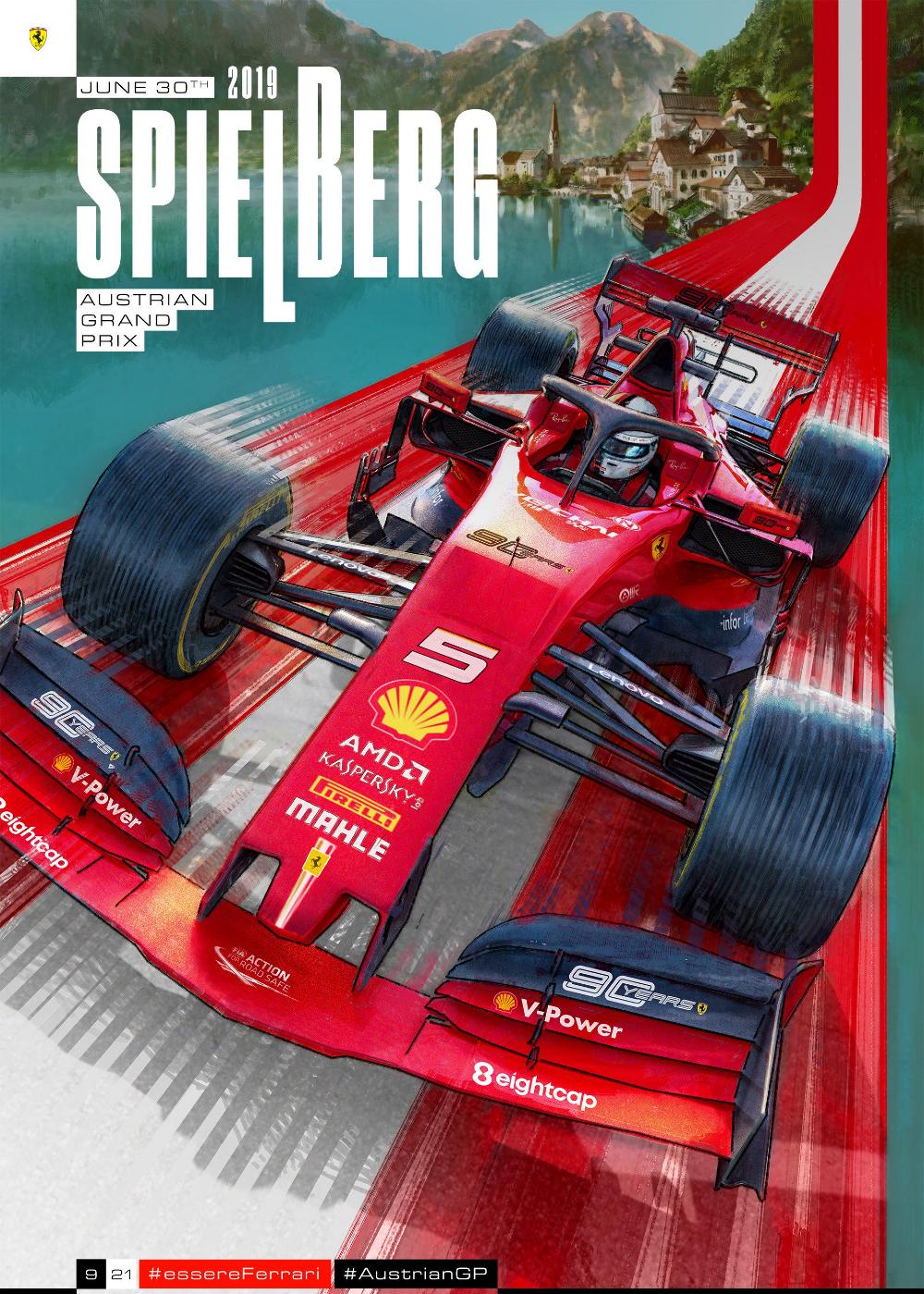 Scuderia Ferrari On Twitter Ferrari Poster Formula 1 Ferrari F1