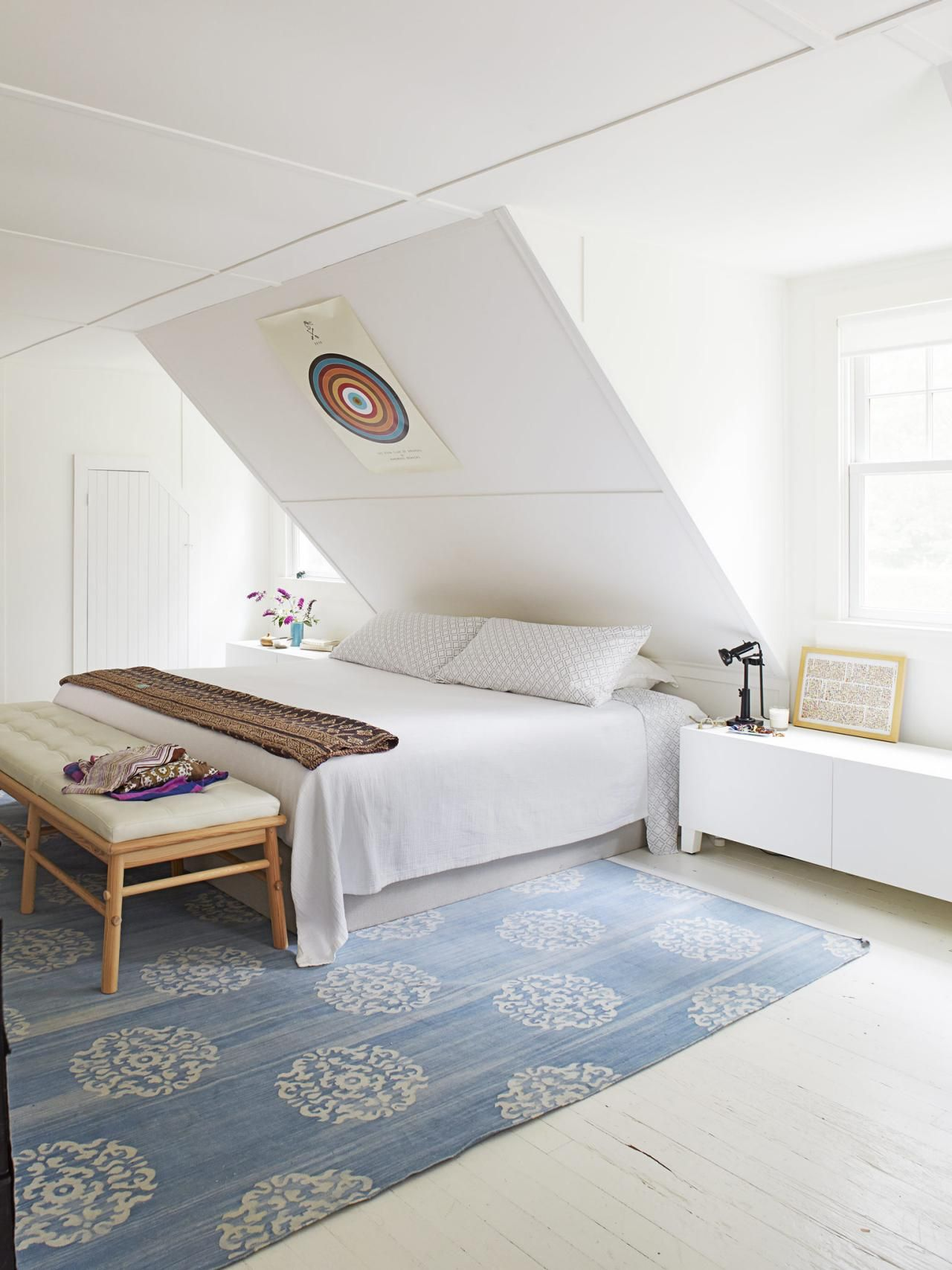 the four best paint colors for bedrooms rugs sloped ceiling rh pinterest com