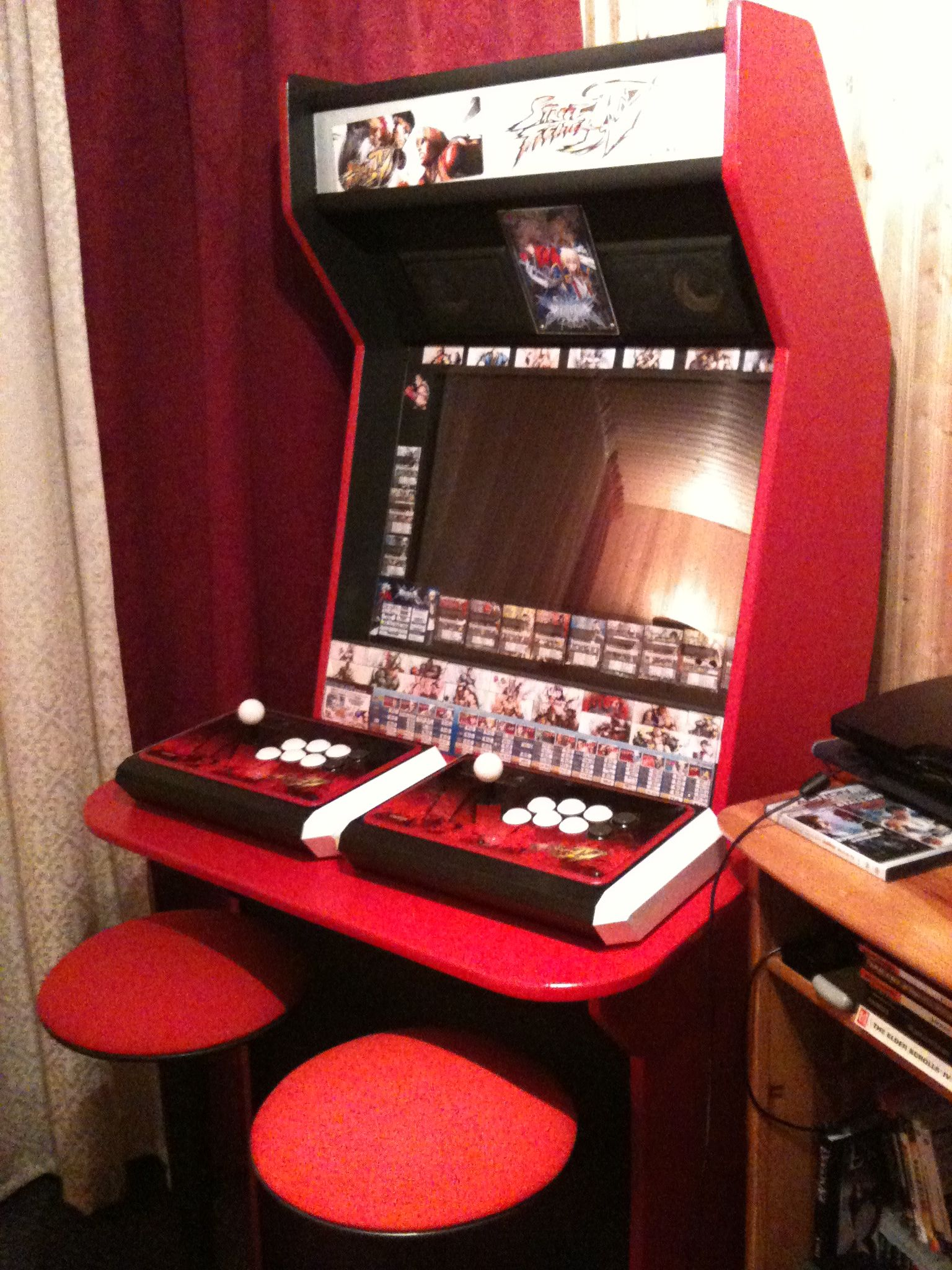 Street Fighter IV Homemaid Arcade Cabinet Complete & Street Fighter IV Homemaid Arcade Cabinet Complete | Project: Cab ...