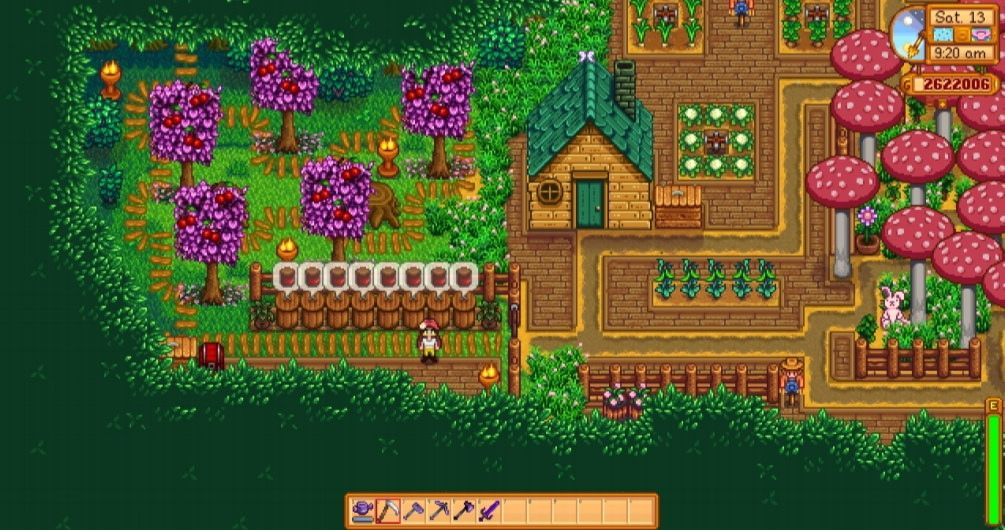 Stardew Valley - Forest Farm | ۞ My Stardew Valley Creations