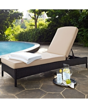 palm harbor outdoor wicker chaise lounge with cushions red rh pinterest com