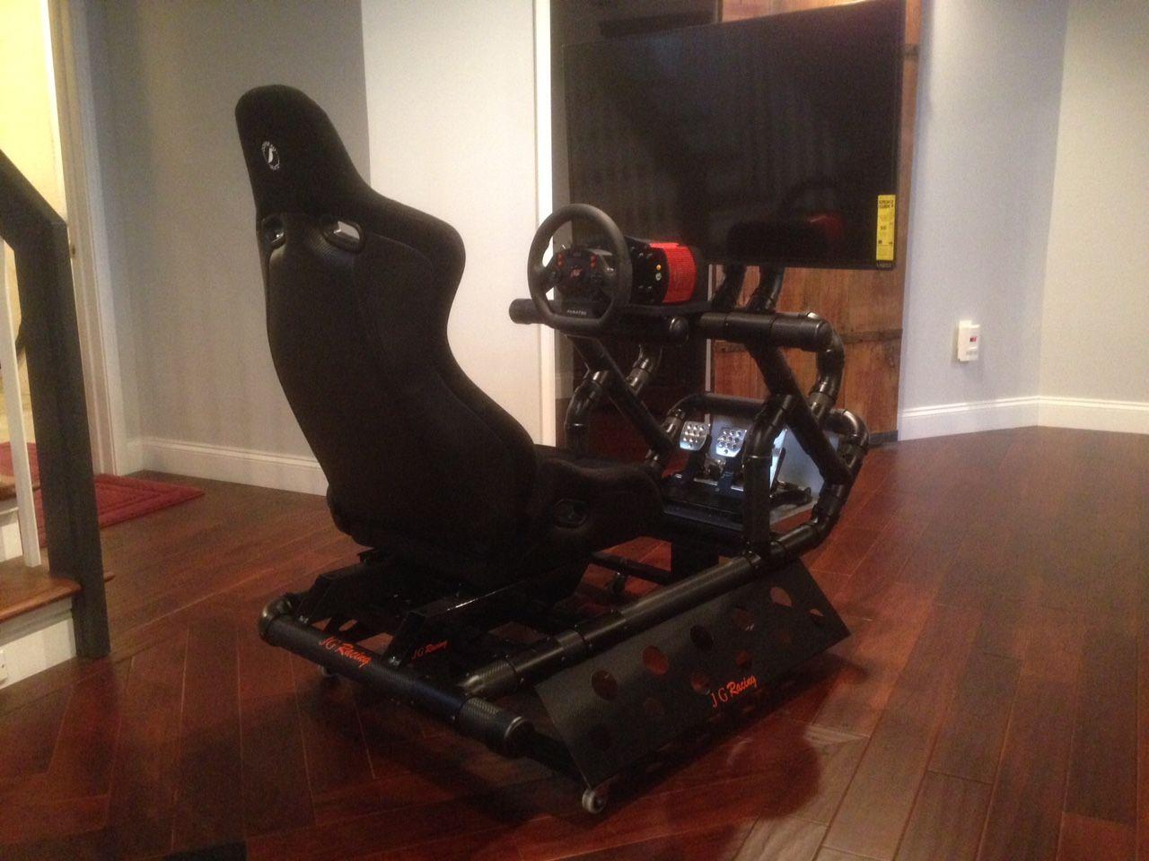 My Diy Sim Racing Rig Racing Simulator Pinterest
