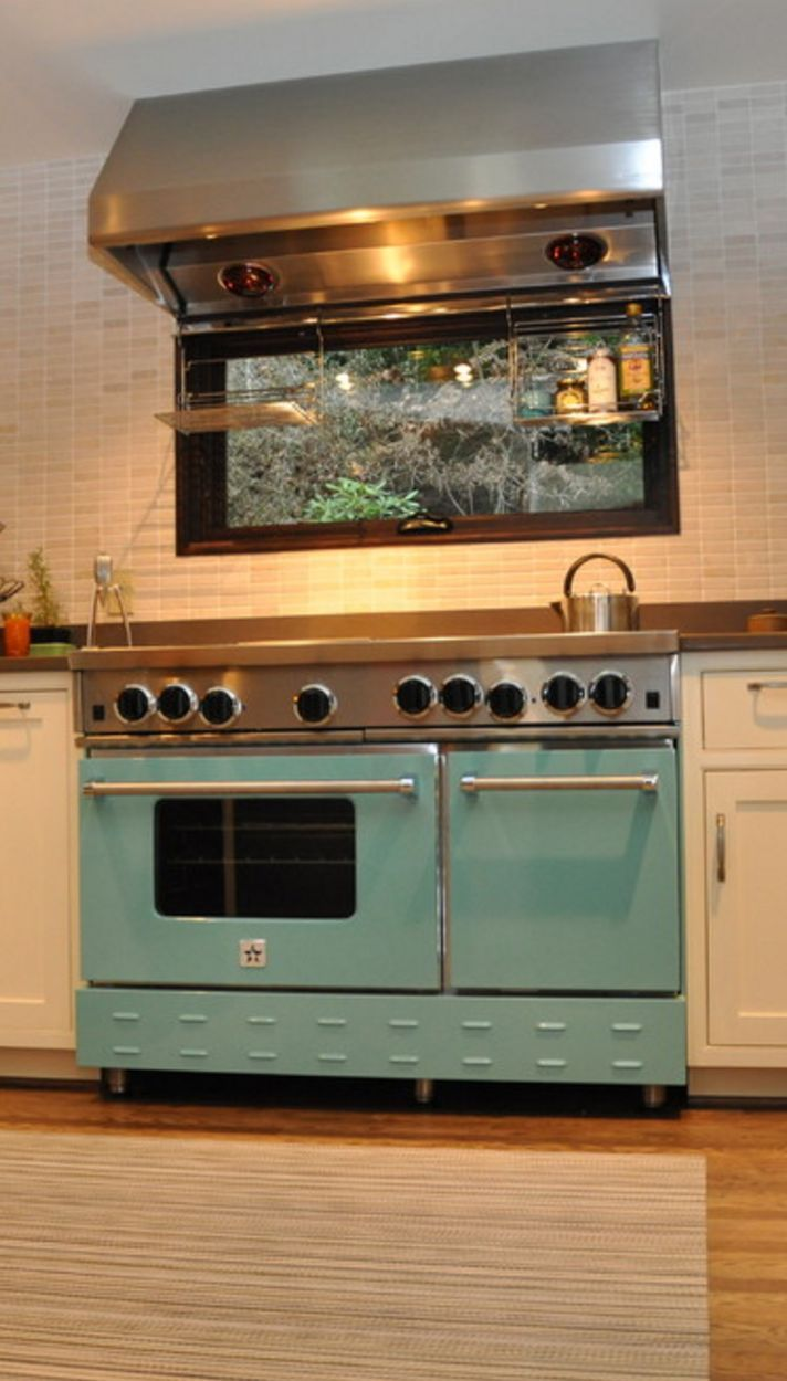 Commercial Quality Open Burner Gas Ranges Bluestar Cooking Eclectic Kitchen Retro Kitchen Appliances Home Kitchens
