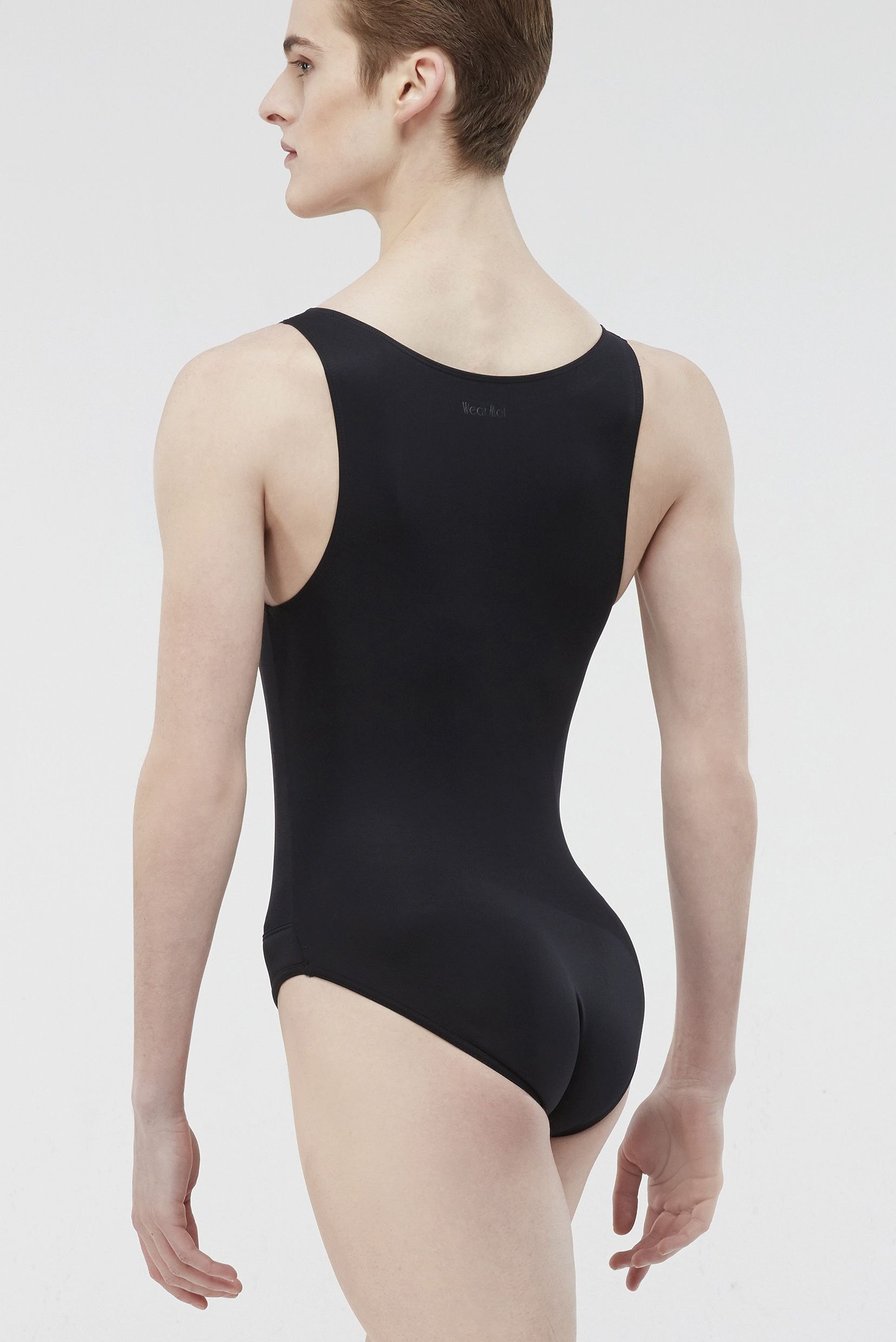 Octave Microfiber Basic Men S Full Tank Leotard With Attached Full Seat Dance Belt Wearmoi Ballet Ballet Men Male Ballerina Dance Attire Boys Leotard