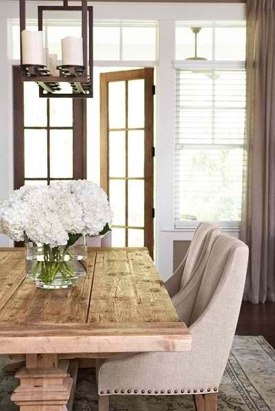 Great rustic table