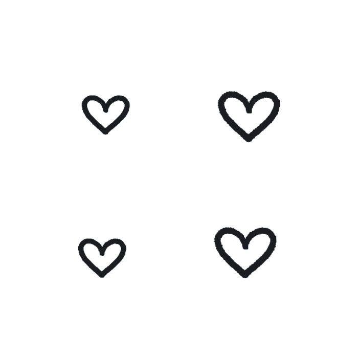Home » All Products » Tiny Hearts Temporary Tattoos