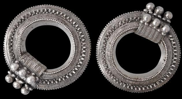 This pair of outstanding Yemeni silver bracelets was advertised among Michael Backman's articles for this month (May) and appears to have sold within 24 hours - not surprisingly, for not many of this quality get offered. Link: http://www.michaelbackmanltd.com/1709a.html