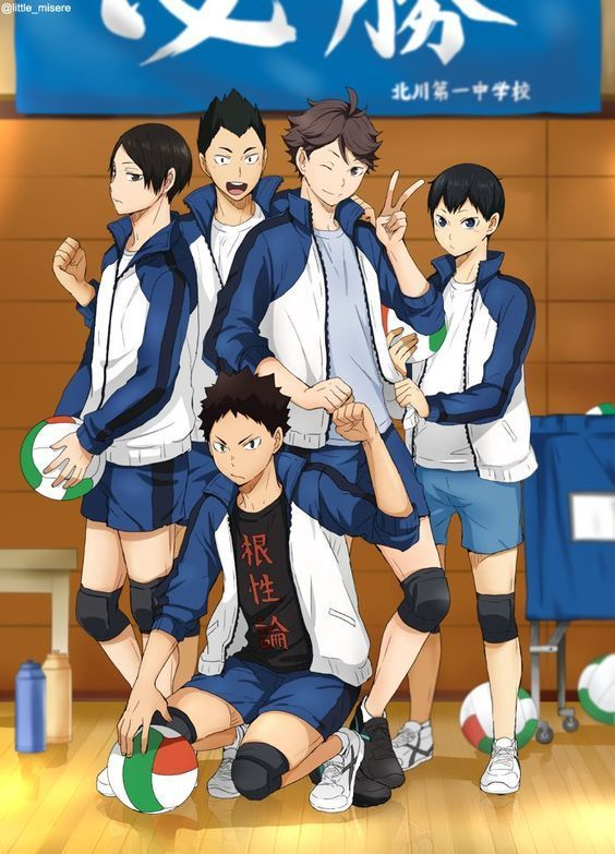 Haikyuu!! on Facebook - Throwback Picture