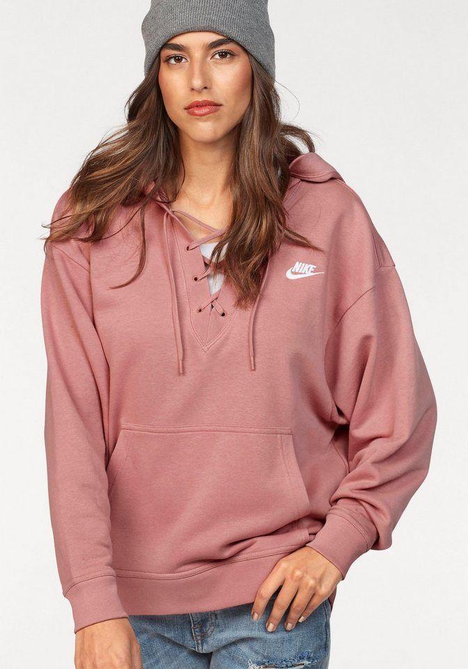408cb0777 Nike Sportswear Kapuzensweatshirt »W NSW CLUB HOODIE LACEUP« für 49,99€.