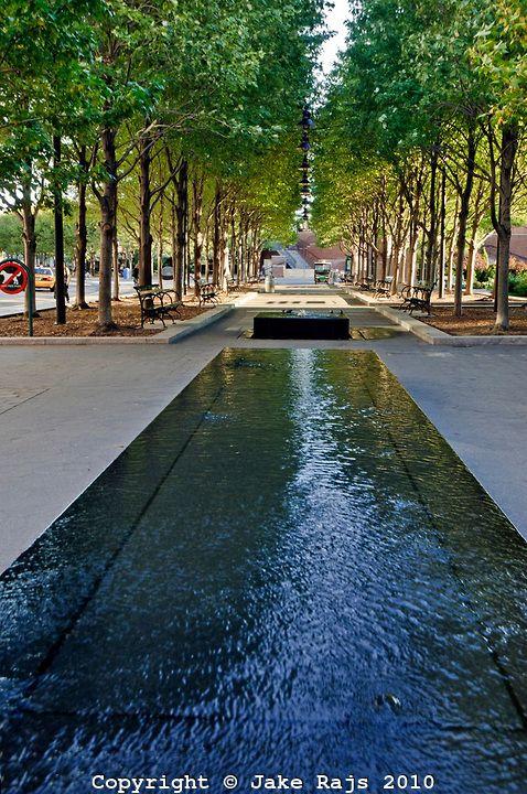 Water Landscape Architecture Park Landscape Design Fountain Park