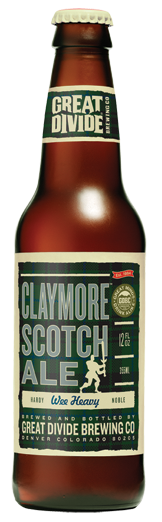 Great Divide | Great Minds Drink Alike » Claymore Scotch Ale