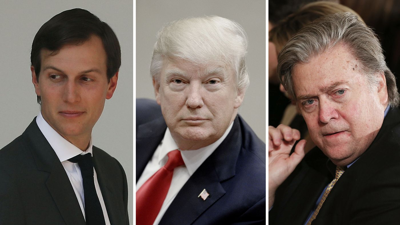 There is backbiting and infighting in the Trump White House that's playing out like a season of House of Cards or Veep. But the president is facing real and difficult challenges at home and abroad.