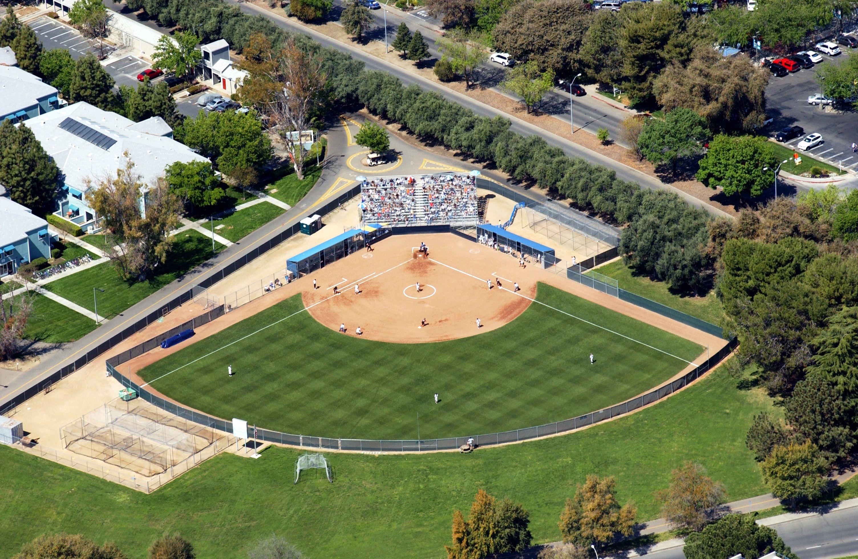 La Rue Field Home Of Aggie Softball Batting Cage Backyard Backyard Backyard Pondless Waterfall