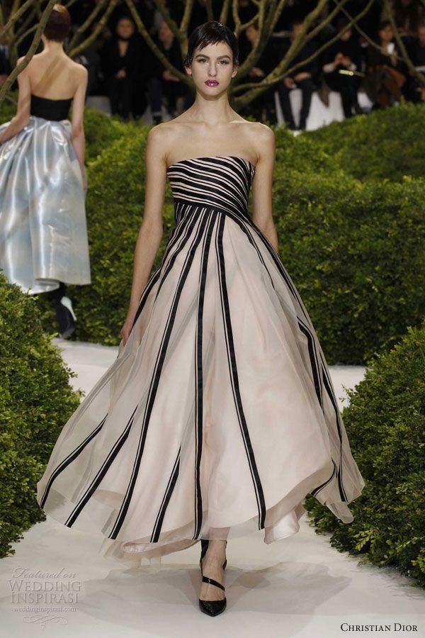 christian dior springsummer 2013 couture strapless
