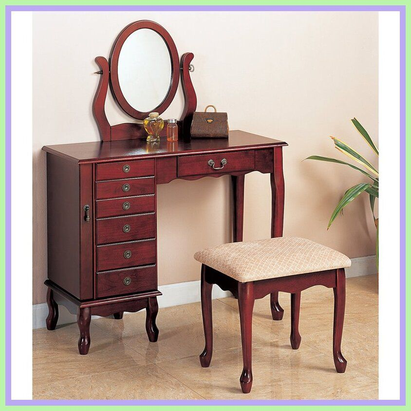 70 Reference Of Bedroom Vanity Table Without Mirror In 2020 Frisiertisch Make Up Tisch Waschtisch Set