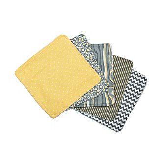Trend Lab® 5-Pack Wash Cloth Bouquet Set