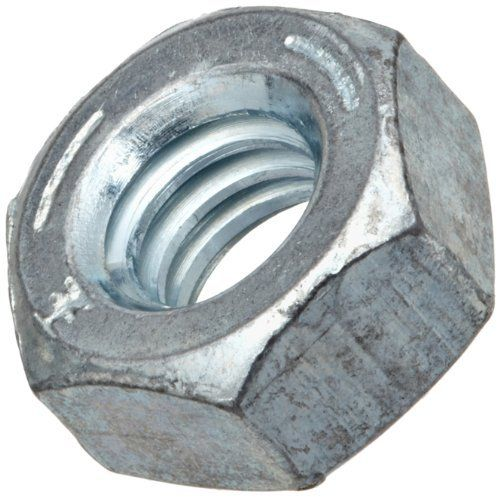 100 7//16-14 HEX LOCK NUTS ZINC COATED NYLON INSERT 100 PIECES 7//16/'/'NUTS