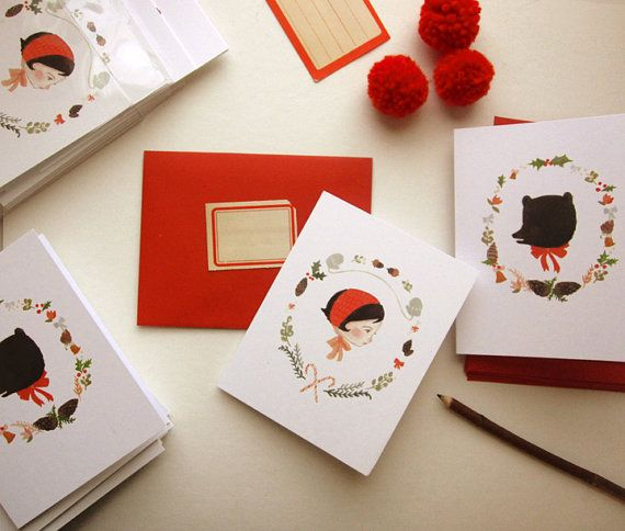 by The Black Apple paper and design things Pinterest Cards