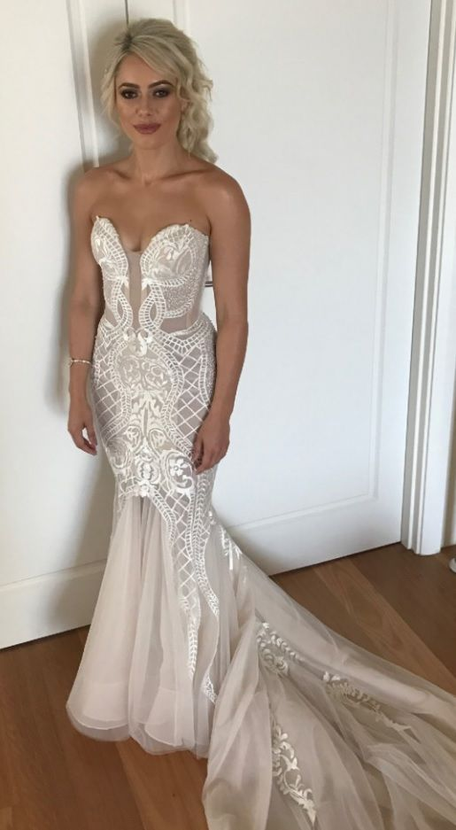 Embroidery bridal gown options from Darius Couture | Bridal gowns ...