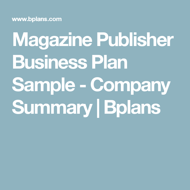 Sample business plan magazine company esl dissertation proposal proofreading for hire for phd