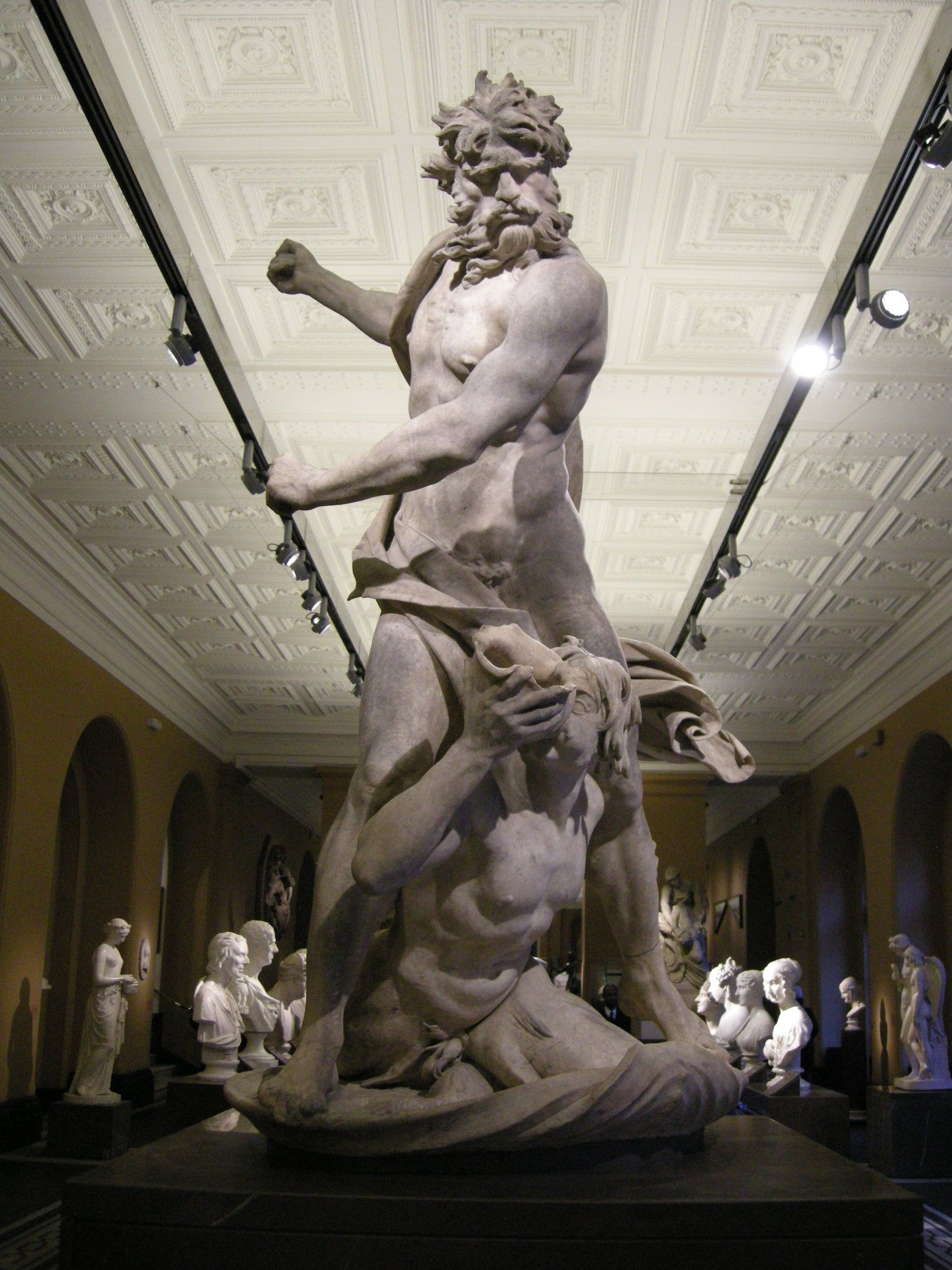 giovanni lorenzo bernini statue of neptune and neptune and triton is an early sculpture by the italian artist gian lorenzo bernini it is housed in the victoria and albert museum of london and was