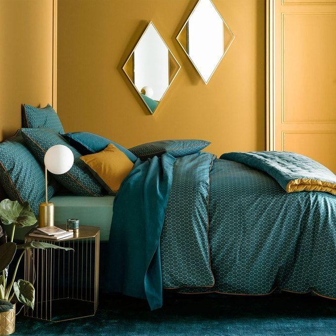 Idee Decoration Interieure Maison Deco Chambre Parentale Amenagement Interieur Urbain Et Vert Jungle Tons Na Avec Images Deco Chambre Bleu Chambre Parentale Jaune