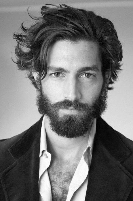 Flow Hairstyle For Men 40 Masculine Hockey Haircuts In 2020 Medium Length Hair Styles Medium Hair Styles Long Hair Styles Men