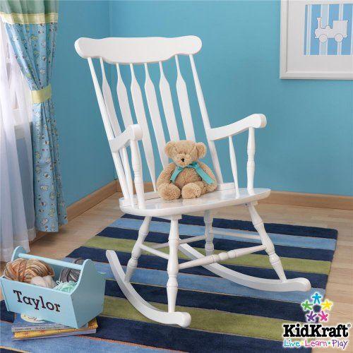 Kidkraft Hill Country Rocker In White Rocking Chair
