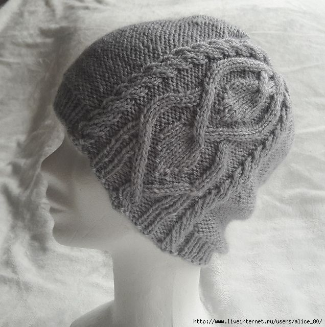 1423063870_yayap1 (636x640, 262Kb) | шапки | Pinterest | Gorros, Dos ...