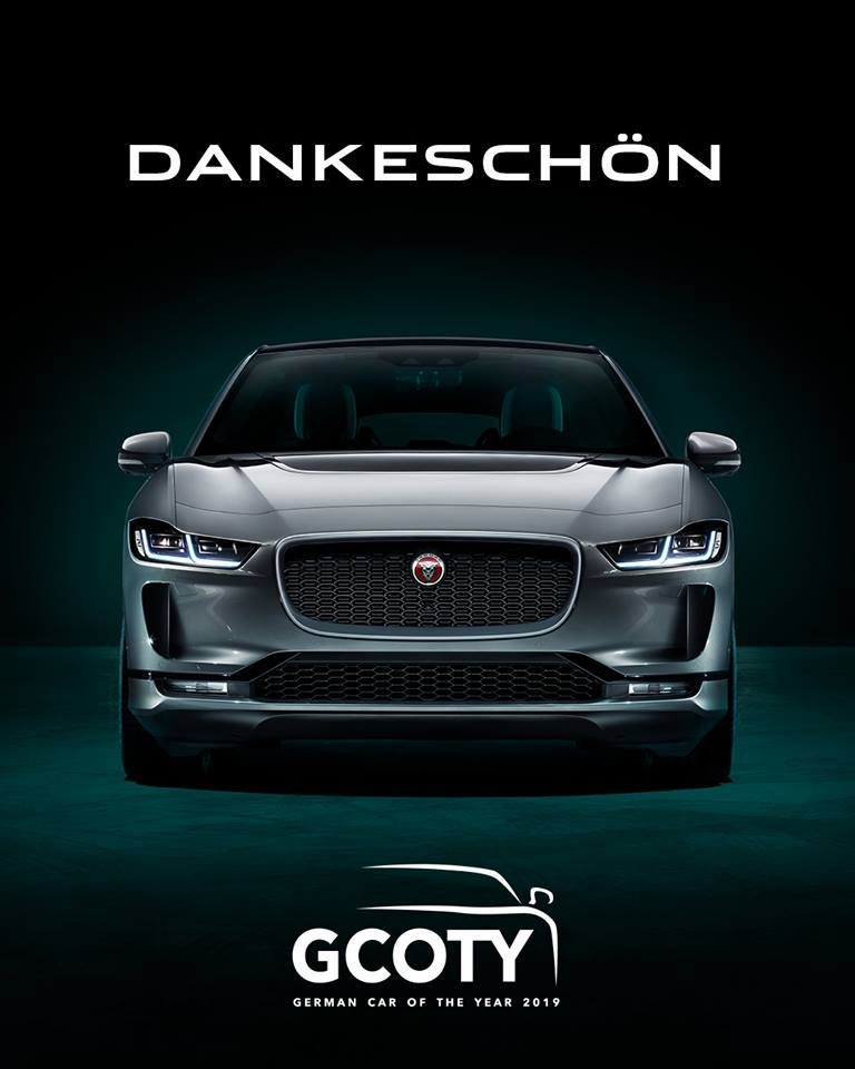 Jaguar I Pace Named Germanys Car Of The Year