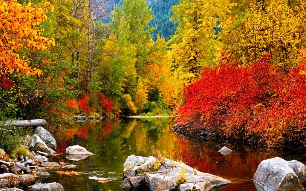 High Resolution Fall Wallpaper: High Resolution Wallpaper Autumn Leavenworth