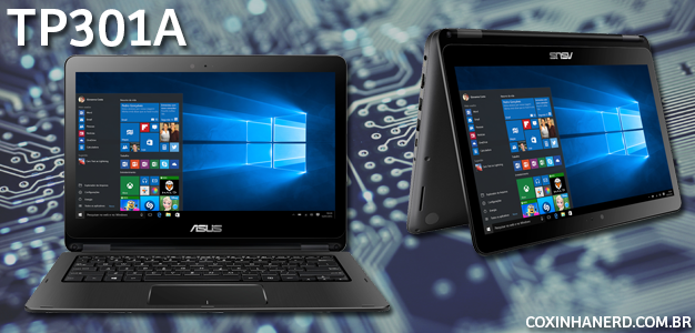Asus notebook modelo TP301A