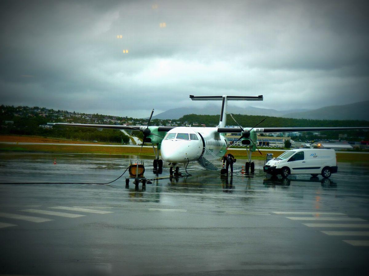 Ein Flytrip mit Widerøe Norwegen günstig mit dem