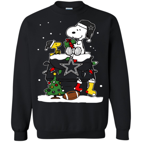 ugly christmas sweater snoopy christmas dallas cowboys t shirts