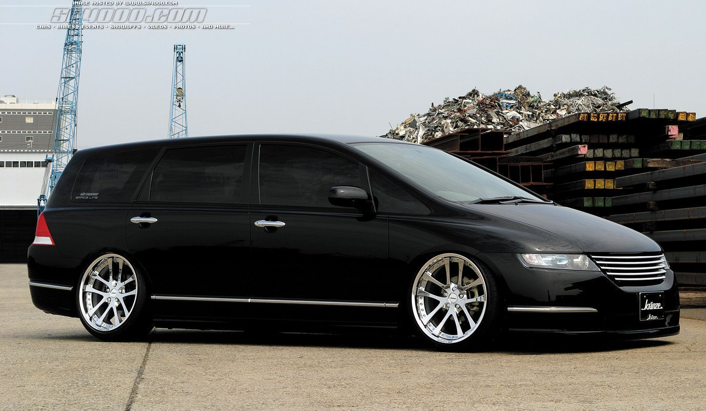Custom Honda Odyssey Who Says You Can T Have Fun With A Minivan Odyssey Pinterest Honda