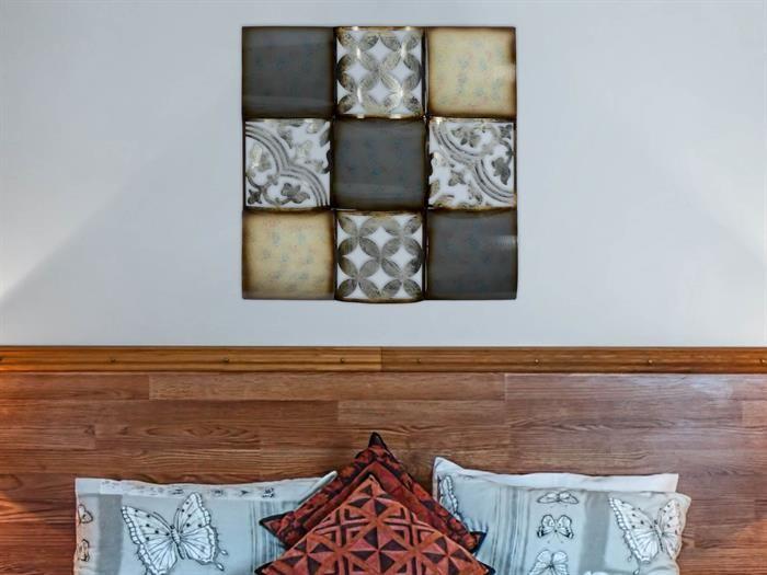 Gilde - CADRE - Metall Wandrelief - Wanddeko Wohnzimmer Wanddeko - leinwand für wohnzimmer