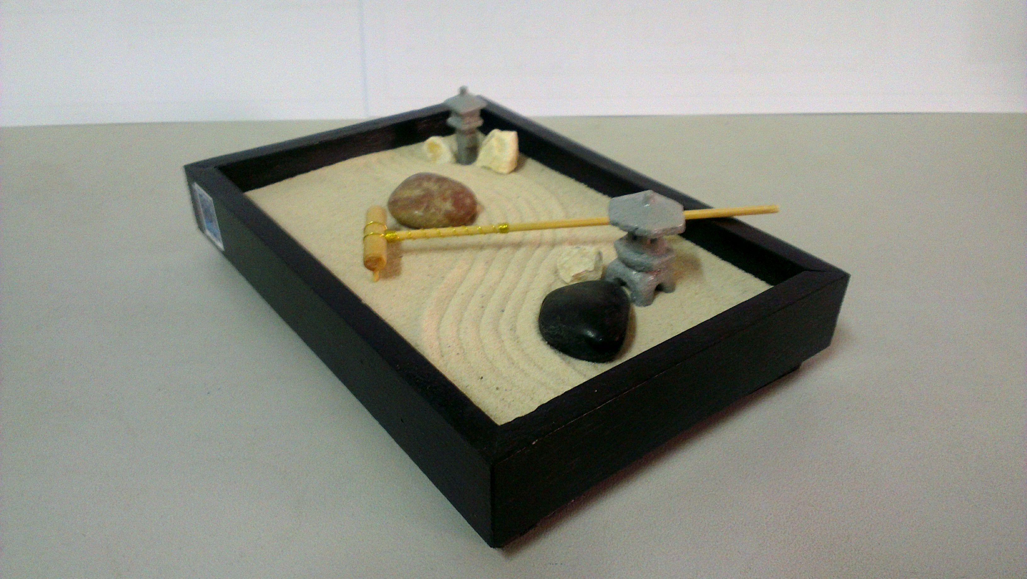 Miniature Sandbox Miniature Zen Garden Zen Garden Decorative Tray