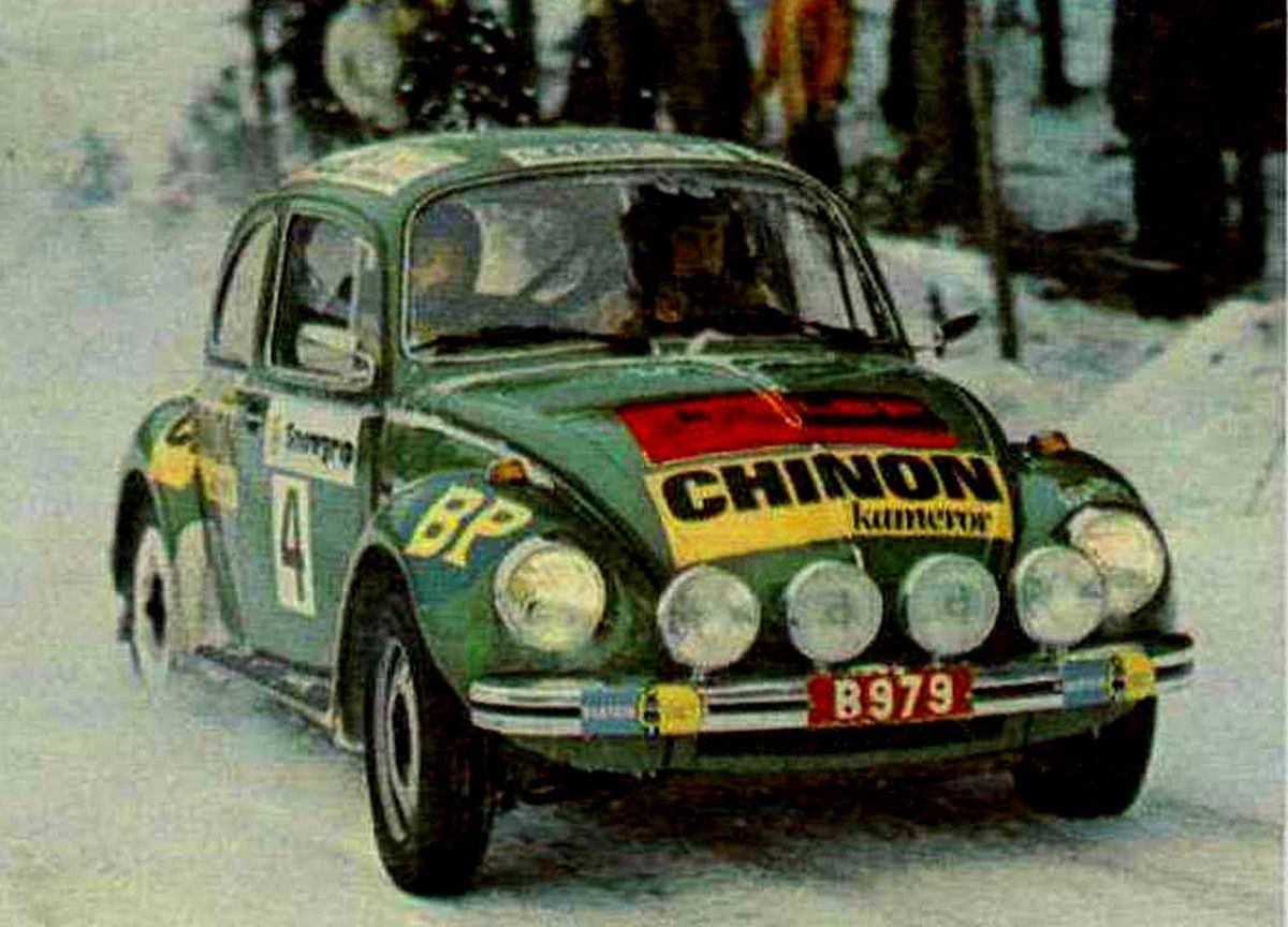 1973 Swedish Rally Bjorn Waldegard Volkswagen 1303s Volkswagen Escarabajo Volkswagen Beetle Volkswagen
