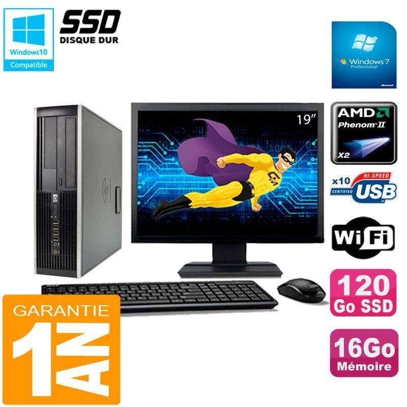 Pc Hp Compaq 6005 Pro Sff Bildschirm 19 Amd Phenom Ii Ram 16 Gb