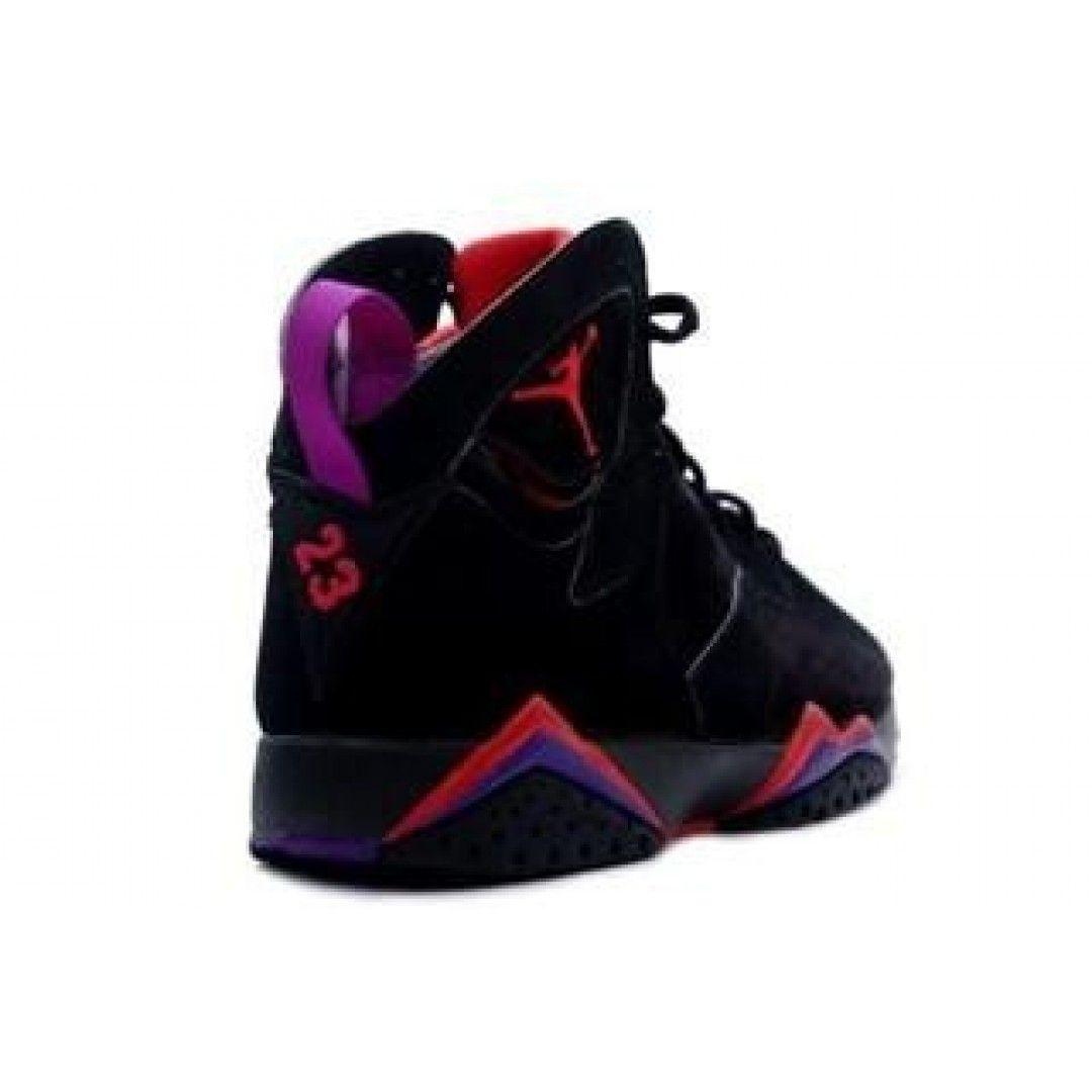 competitive price 2630f f64bb Air Jordan 7 Retro Raptor Black Dark Charcoal True Red ...
