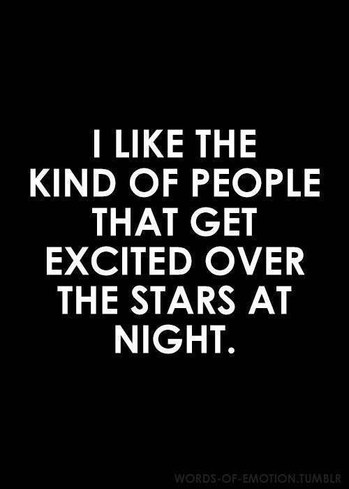 Love Quote Stars At Night