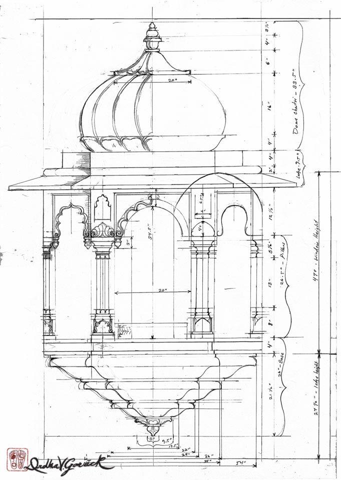 Jharoka Sringasan Divyakala A R T Mandir Design