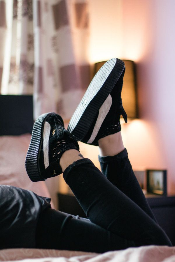 The Puma Rihanna Creeper, there are so many fakes being sold