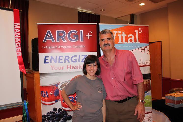 I'm with senior vice president in Forever Living, Carl Zander!