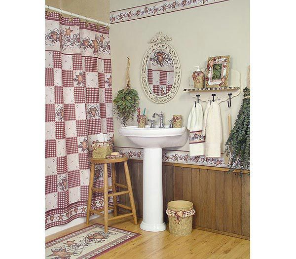 Country Bathroom Decor Accessories